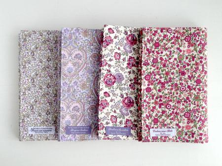 リバティ花柄かわいい素敵なブックカバー新書サイズエロイーズキティグレースフェリシテケイコ